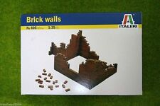 Italeri 1:35 Scale Brick walls  Accessories, Dioramas 405