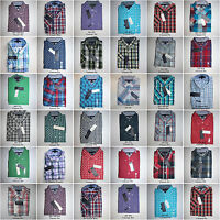 Tommy Hilfiger,Men's Short Sleeve Plaids Woven Casual Shirts.New with Tags