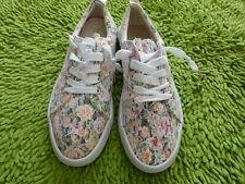 Citi Steps Women's Floral Lace Sneakers Shoes Size 9