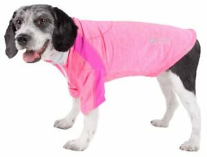 Pet Life  Active 'Chewitt Wagassy' 4-Way Stretch Performance Long Sleeve Dog ...