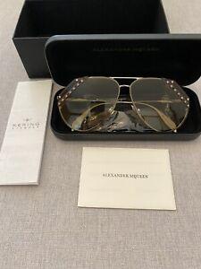 Alexander Mcqueen Sunglasses AM0117s Genuine