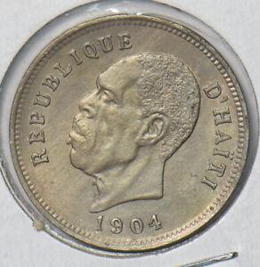 Haiti 1904 5 Centimes 490115 combine shipping
