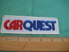 Vintage Car Quest  Racing Equipment Service Dealer Uniform Hat Patch