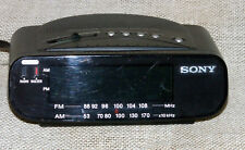 Sony Dream Machine Alarm Clock Radio AM FM ICF-C212 Battery Backup Green LED
