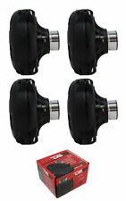 "4x DS18 2"" Grey Phenolic Compression Horn Driver 1200 Watts 8 Ohm PRO-DR250"