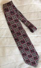 """Expressions Tie.  Red. Made In USA. 4""""x 58"""""""