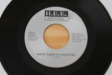 HERN BROS BAND When I Look In Your Eyes 45 Power Pop Funk Metal HEAR