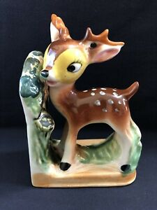 Vintage Mid Century Bambi Bookend (Right Side)