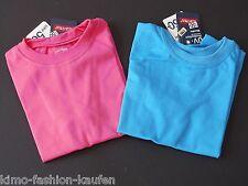 MaxiMo T-Shirt Regular Mittelmeerblau Pink UV Schutz 50+ Gr. 104 116 NeU