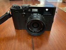 Fujifilm FinePix X100F 24.3 MP Digital Camera - Black