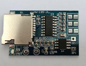 Verstärkermodul für Arduino GPD2846a TF Karte MP3-Decoder Board