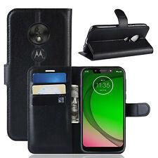 Étui Portable Motorola Moto G7 Jouer Sac Rabattable Étui à Clapet Etui Neuf