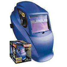 Gys Casque de Soudage LCD Expert 9 13 Gramme Bleu 042216 Solaire et Batterie
