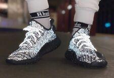Adidas Yeezy Boost 350 V2 Static Black (Reflective) (UK 8 - EU 42)