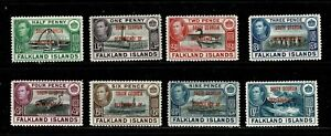 DE862 SOUTH GEORGIA 1944 Overprinted Falkland issue  MH