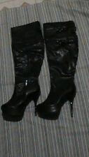 xoxo Over The Knee Heeled Boot (Angelina) - Size 8.5M
