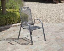 Gartenstuhl Toulouse Stahl grau