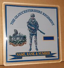 The Gloucestershire Regiment coasters (pack of 4) free postage.