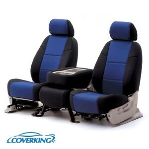Coverking Custom Front, Middle, and Rear Seat Covers For Chrysler Town & Country
