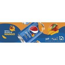 Pepsi Cola with  Mango 12 pack cans HARD TO FIND!  RARE!