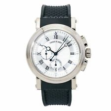 Breguet Marine Flyback 5827 Men's Automatic Watch 18K White Gold 42MM