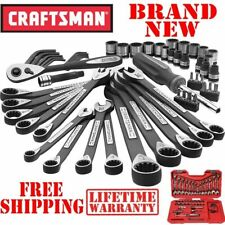 New CRAFTSMAN 56pc PIECE Universal Mechanics TOOL SET Metric SAE w CASE Mixed