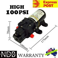 12V Water Pump 5Lpm Self-Priming Caravan 100Psi High Pressure EXPRESS & WNTY