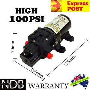 12V Water Pump 5L/min Self-Priming Caravan 100Psi High Pressure EXPRESS & WNTY