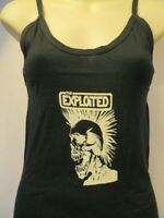 Nos The EXPLOITED Tank Top T Shirt Mohawk Skeleton Skull England Punk Band XL