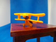 YELLOW RUBBER BY PLANE FOR A DOLLS HOUSE CHILD