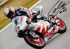 Marcel Schrotter Hand Signed Mahindra Racing 7x5 Photo 125cc 2011 2.