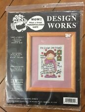 Design World Art & Soul Counted Cross Stitch Kit My Sister My Friend New  H