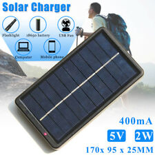 Waterproof Solar Charger Power Bank Fast Charging USB Battery Pack For Phone