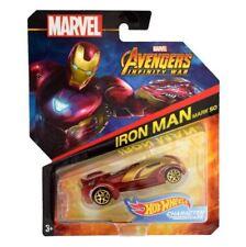 Hot Wheels Marvel coche Capitán América Bdm71 Bdm73 modelo de hierro fundido