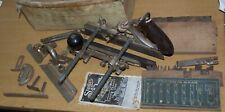 Vintage Stanley Sweetheart USA No 45 Combination Plane 2 Sets of Cutters + Box