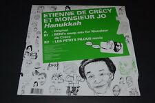 Etienne De Crecy et Monsier Jo~Hanukkah~2009 Electronic House~French IMPORT