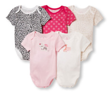 New The Children's Place Baby Girl 5-piece Bodysuit Set