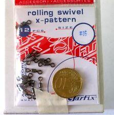 2 BUSTINE DI GIRELLE SARFIX ROLLING SWIVEL X-PATTERN PZ.12 N.16 - G6