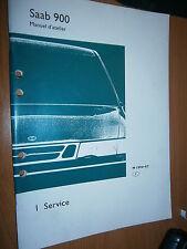 Saab 900 : manuel atelier partie 1 Service 1994-97