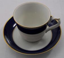 Villeroy & and Boch Heinrich ROYAL BLUE cup and saucer NEW