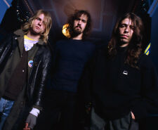 Nirvana UNSIGNED photograph - M1923 - Kurt Cobain & Krist Novoselic - NEW IMAGE