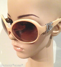 AUTHENTIC D G Dolce & Gabbana Sunglasses 6030b DG6030B Brown DG Crystal CASE