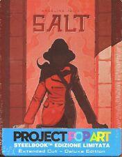 Salt Blu-Ray + Digital HD Deluxe Steelbook Ltd Ed. Steelbook Sealed FREE P&P