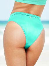 Victoria's Secret HIGH WAIST Bikini Bottom Cheeky Seafoam Glow Size Small SEXY!