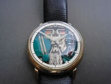 Vintage Bulova accutron spaceview 214 M4 10KT Gold filled Bezel Watch