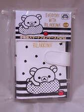 San-X Rilakkuma Smart Phone Flip Diary Case 140x75x10mm PU Leather White