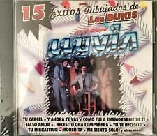 GRUPO LA LLUVIA 15 EXITOS DIBUJADOS DE LOS BUKIS CD LIKE NEW RE-SEALED