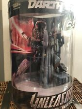 More details for star wars unleashed darth vader in box figure model statue