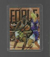 1997-98 Topps Finest Refractor Dikembe Mutombo #82 BASKETBALL CARD