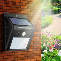 48 LED Solar Power Light Sensor Wall Light Outdoor Waterproof Garden Lamp